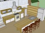 kitchen - loft hidden