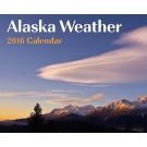 2016 Alaska Weather Calendar
