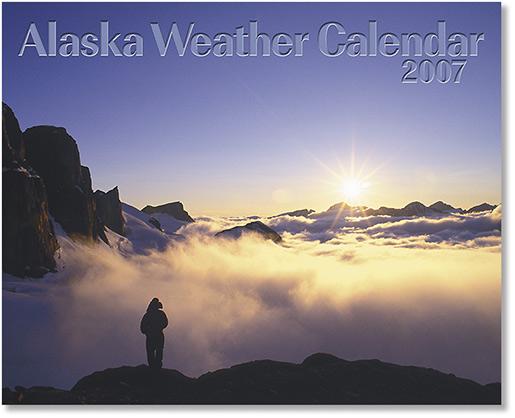 2007 Alaska Weather Calendar-0