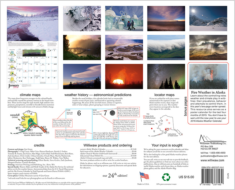 2016 Alaska Weather Calendar-46