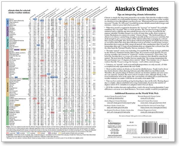 Alaska's Climates: annotated map-12