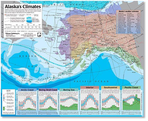 Alaska's Climates: annotated map-0