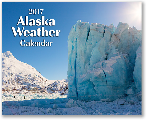 2017 Alaska Weather Calendar front cover